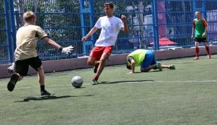 В преддверии Дня молодежи открыли сезон дворового футбола!