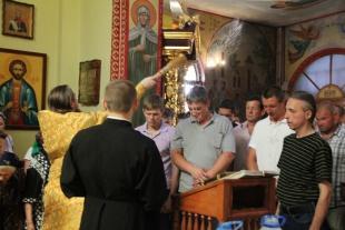 В Международный день борьбы с наркоманией в Свято-Троицком храме отслужили молебен перед иконой Божией Матери «Неупиваемая чаша»