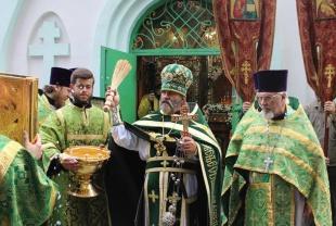 Первый в Ростовской области храм в честь преподобного Сергия Радонежского отметил престольный праздник