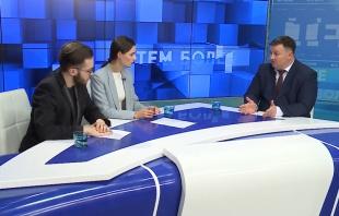 Станислав Горяинов на ТВ Дон 24 рассказал о борьбе с наркоманией и о реабилитации наркозависимых людей