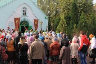 В ростовском храме в честь преподобного Сергия Радонежского престольный праздник