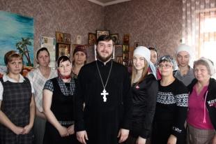 Клирик Троицкого храма г.Ростов-на-Дону посетил женский реабилитационный Центр
