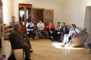 Урок мужества с Александром Аркадьевичем Шабаловым в реабилитационном центре