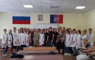 Для учащихся колледжа ФГБОУ ВО РостМГУ Минздрава России провели профилактический лекторий