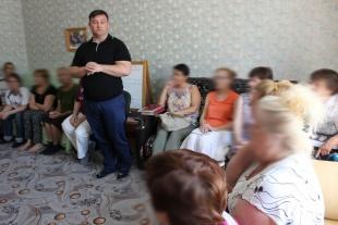 Станислав Горяинов провел очередное родительское собрание