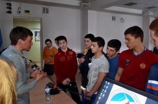 Провели профилактическую беседу с учащимися Ростовского областного училища Олимпийского Резерва