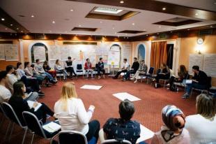 Гештальт-консультант, психолог организации «Ростов без наркотиков»  Александр Игнатенко принял участие в первом установочном семинаре