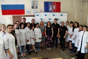 Провели антинаркотический лекторий в Медицинском колледже Ростовского государственного медицинского университета РостГМУ