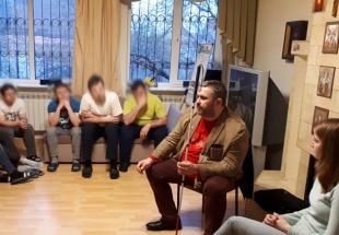 Гостем в мужском реабилитационном центре «Ростов без наркотиков» стал президент АНО