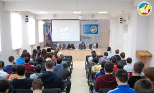 Провели антинаркотический лекторий в Ростовском областном училище олимпийского резерва