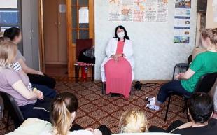 Очередное занятие в женском реабилитационном центре провела психолог О.И. Шорохова