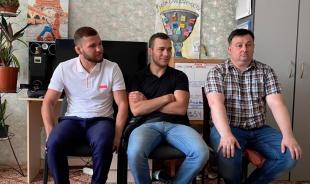 Депутат, президент лиги PRO FC, Александр Шаблий посетил женский центр