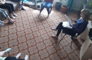 Кандидат психологических наук, доцент Е.В. Капитанова в женском реабилитационном центре провела разбор тестов по профориентации